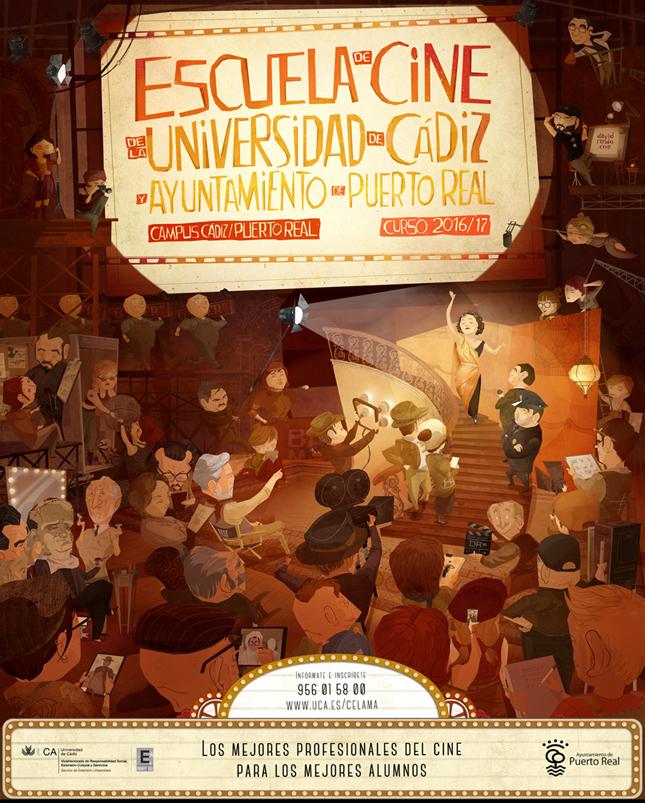 Cartel Escuela Cine