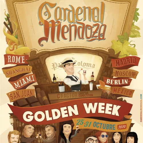 Cardenal Mendoza Golden Week 2020